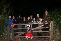 Highlight for Album: Cefn Bryn Night Hike 2008/2009