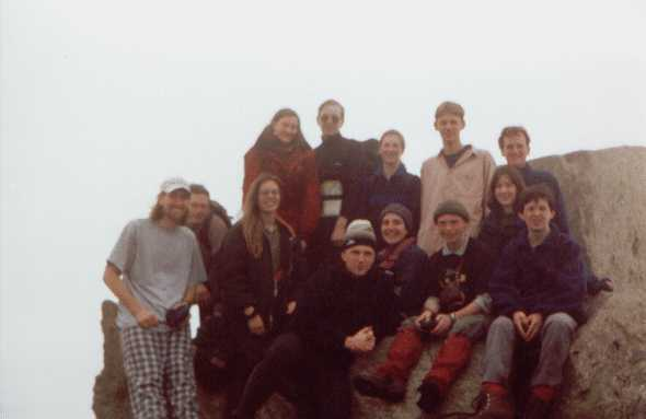 A group on tryfan